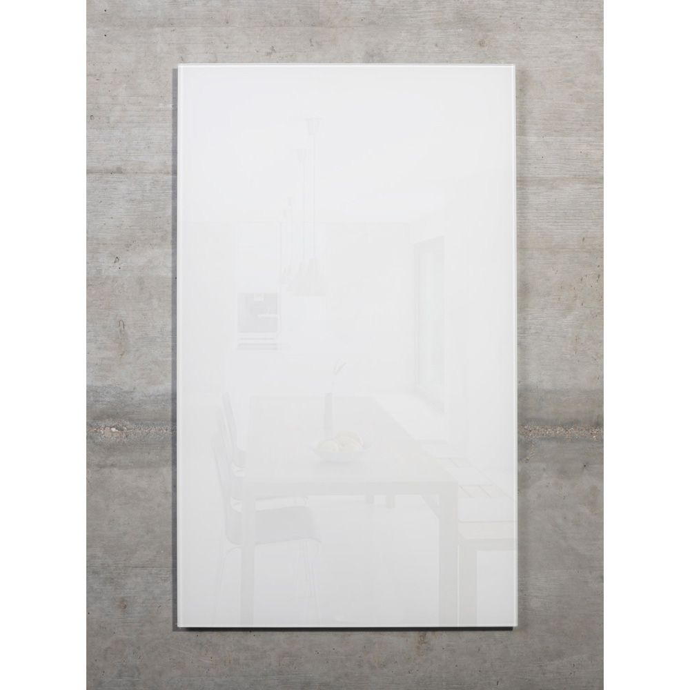 raum-blick Glas Pinnwand MAX 50x30 cm weiss M2-W-4